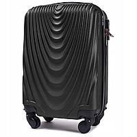 Маленький мини XS чемодан для ручной клади. Поликарбонат  WINGS 304