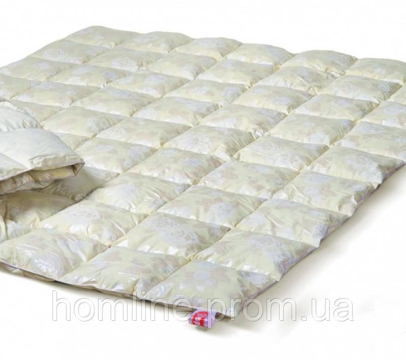 Одеяло Эко Пух 200*220 кассетное пух 50% перо 50%