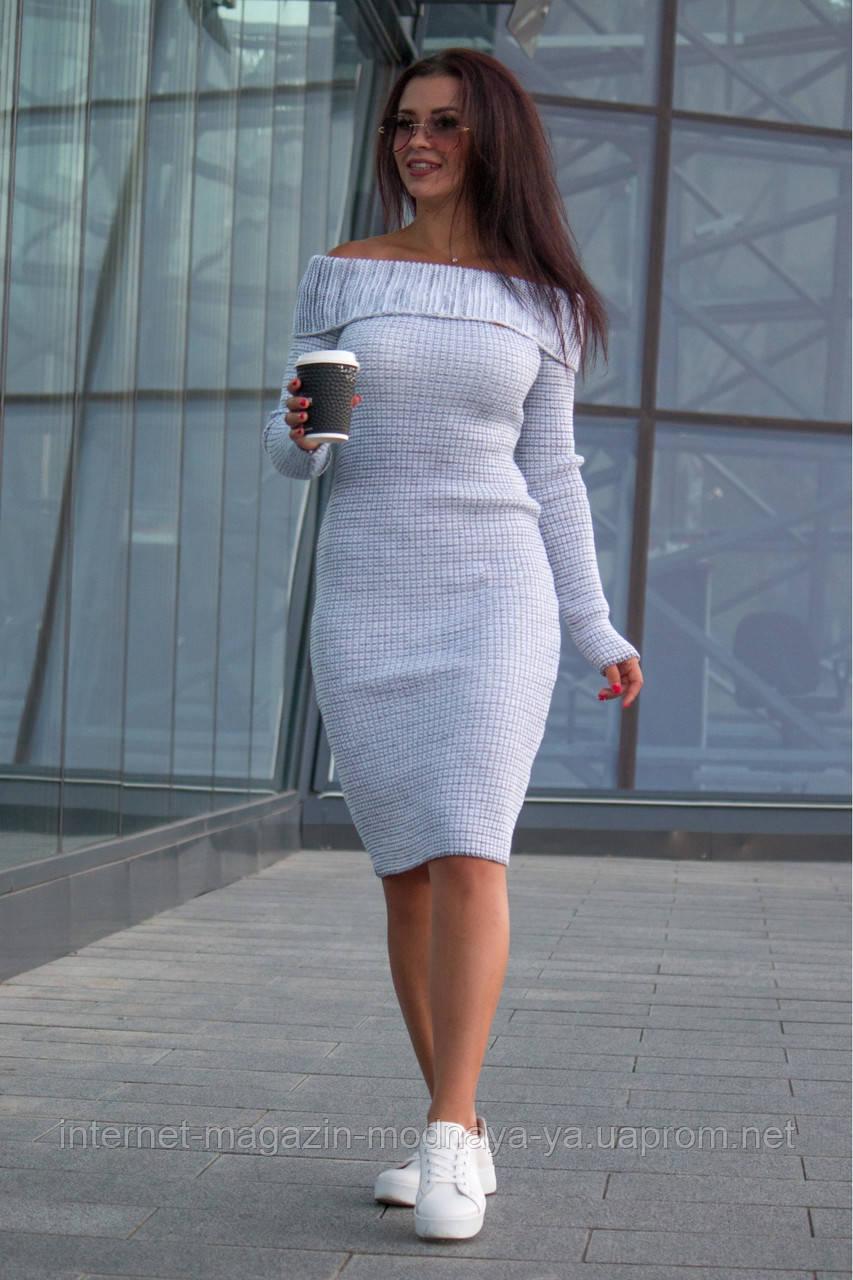 c04375770fb Платье вязаное