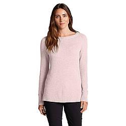 Пуловер Eddie Bauer Womens Lux Thermal Crewneck Sweater HTR M Розовый 0303PIH-M, КОД: 268959