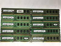 Оперативная память 2gb DDR3 різні виробники PC3-10600 1333MHz односторонняя и двухсторонняя intel и AMD