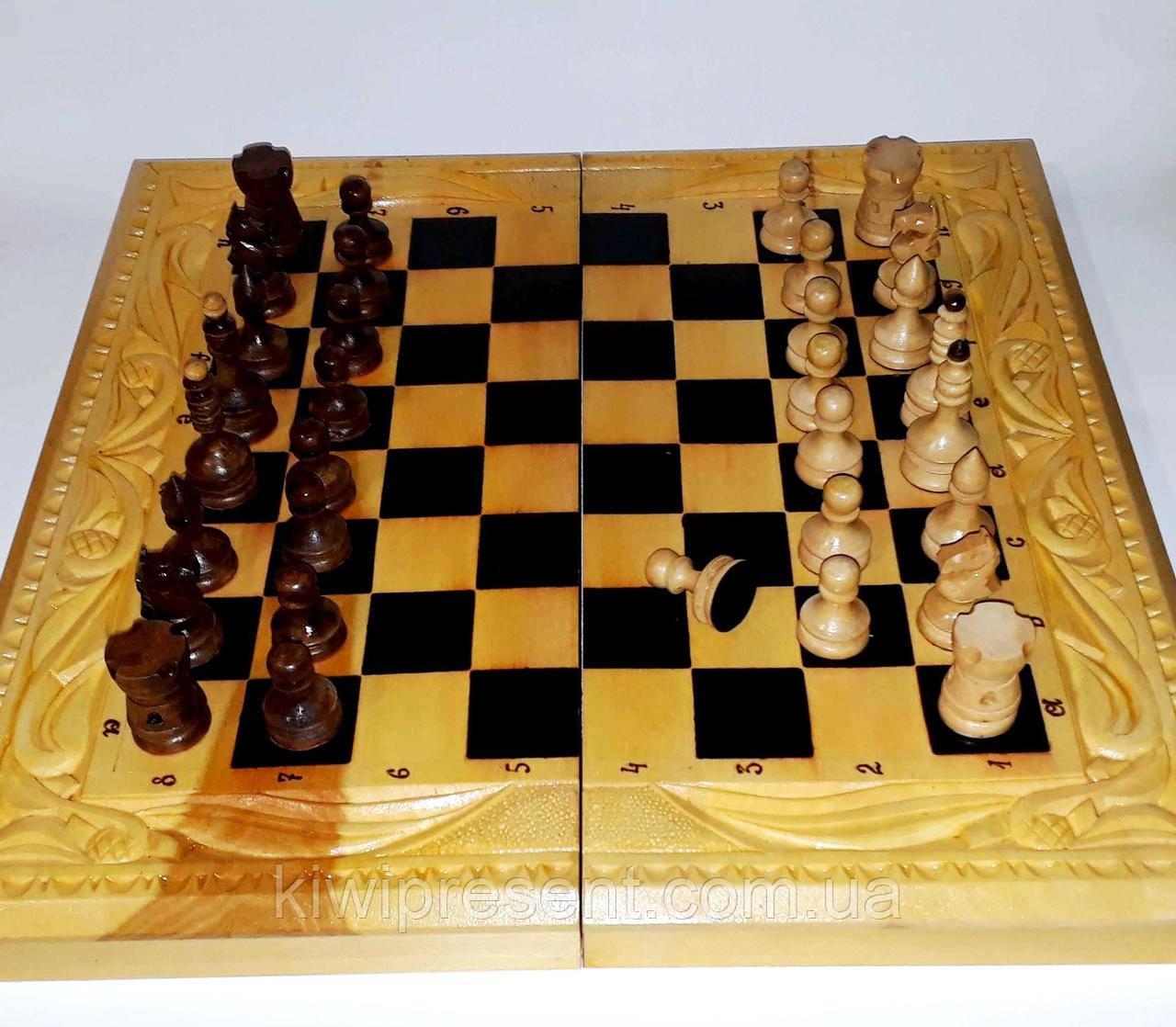 шахматы ручной работы шашки нарды большие резные цена 3 000 грн