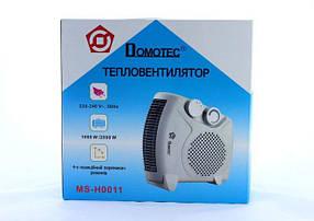 Тепловентилятор Heater MS H 0011 Дуйка Обогреватель, фото 3