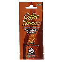 Крем для загара в солярии Solbianca Coffee Dream с маслами кофе ши и бронзаторами 15 мл, КОД: 294082