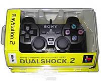 Джойстик проводной для Sony playStation ps2 геймПад gamePad dualShock