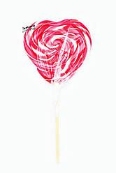 Леденец на палочке «Сердце крученое» фруктовое ассорти