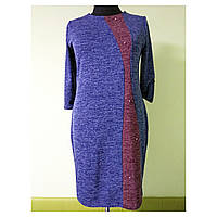 4ac1ae0c09b №301 Женское платье большого размера 54 (56