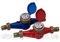 Счетчик ЛЛ 32 Г горячей воды многоструйный