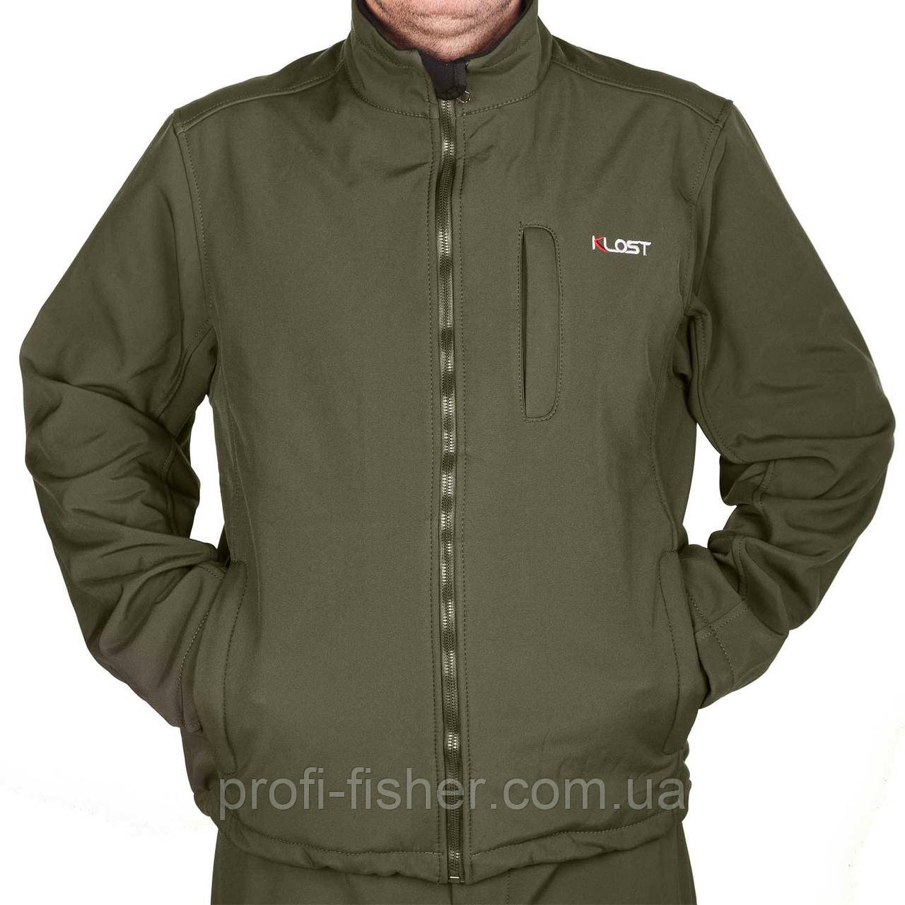 Куртка KLOST Soft Shell Тур 5010 XXL Khaki