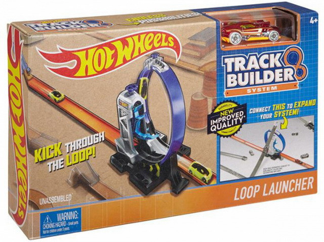 Упаковка трека хот вилс петля с ускорителем Hot Wheels