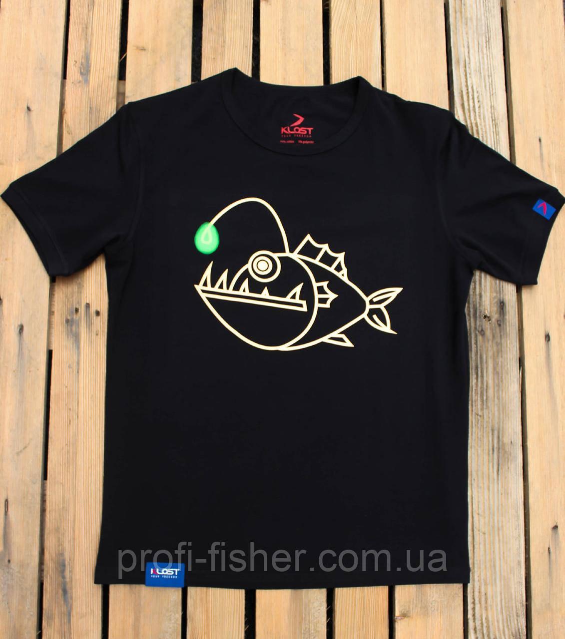Футболка KLOST Angler Fish 70.01 L Black