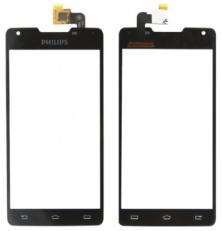 Сенсорный экран (тачскрин) Philips W6618 black