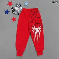 Теплые штаны Spiderman для мальчика. 3-4 года