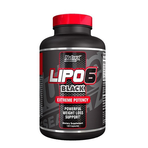 LIPO-6 BLACK /120 CAPS