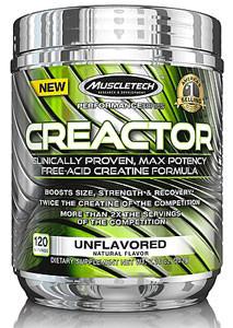 MuscleTech Creactor HCL 120 servings