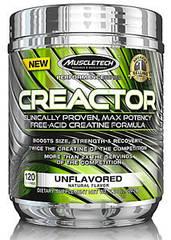 MuscleTech Creactor HCL, Креатин гідрохлорид (120 порцій)