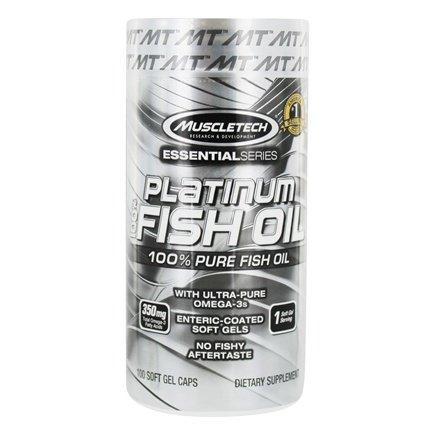 MuscleTech Essential Series Platinum 100% Fish Oil (100 капс.)