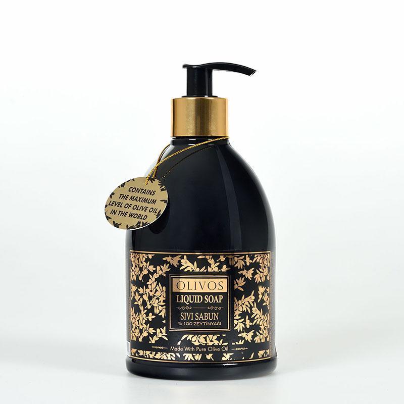 Оливкова натуральне рідке мило Olivos Liquid soap, 500мл
