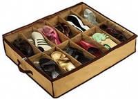 Пластиковий органайзер для взуття(Шуз Андер) Органайзер для взуття