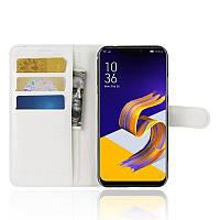 Чехол-книжка Litchie Wallet для Asus Zenfone 5 / 5Z(ZE620KL / ZS620KL) Белый