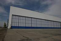 Ангарные ворота DoorHan в аэропорту Днепропетровска