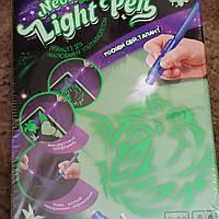 Планшет для малюванням ультрафіолетом А4 ( Рисуем светом )