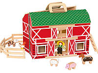 Деревянный игровой набор Ферма Playtive, фото 1