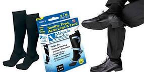 Компрессионные носки Miracle Socks с антиварикозным эффектом PR1, фото 3