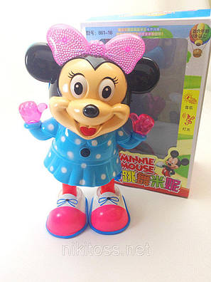 Интерактивная игрушка танцующая Minnie Mouse 861-16, фото 2