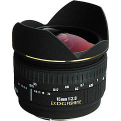 Sigma 15mm F2.8 DG fisheye Sony A