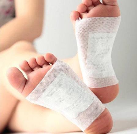 Лечебный пластырь для ног DH8 (в комплекте 8 штук), фото 2