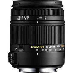 Sigma 18-250 F3.5-6.3 DC macro for Sony
