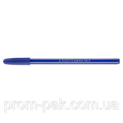 Ручки шариковые Aihao 555-А синяя, фото 2