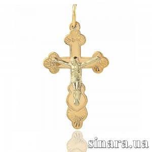 Золотой крестик 11759