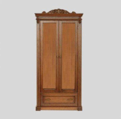 Шкаф для одежды 2Д1Ш-К40 Галиция Мебус