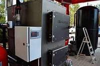 Пиролизная блочно-модульная котельная DM-STELLA 80-120 кВт