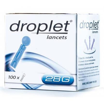 Ланцеты Дроплет #100, 28G - для Сенсолайт, Контур, Глюкокард, фото 2