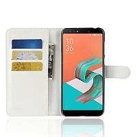 Чехол-книжка Litchie Wallet для Asus Zenfone 5 Lite ZC600KL Белый