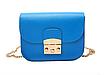 Женский клатч сумка через плечо в стиле Furla Синий, фото 2