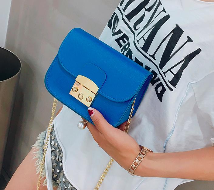 Женский клатч сумка через плечо в стиле Furla Синий