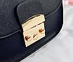 Женский клатч сумка через плечо в стиле Furla Синий, фото 5