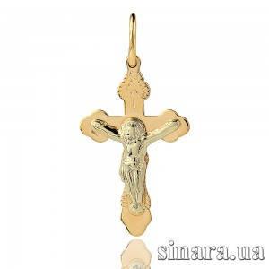 Золотой крестик 12313