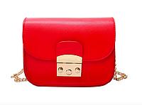 Женский клатч сумка через плечо в стиле Furla Красный, фото 1