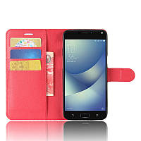Чехол-книжка Litchie Wallet для Asus Zenfone 4 Max ZC554KL Красный