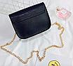 """Женская сумка клатч на цепочке в стиле """"Гермес"""" Красный, фото 5"""
