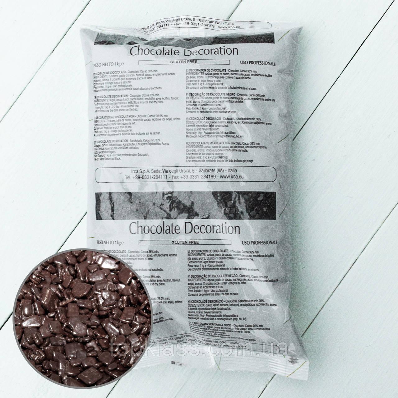Осколки з чорного шоколаду SCAGLIETTA DARK IRCA, Італія 1кг