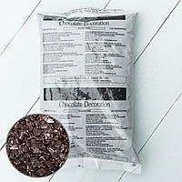 Осколки з чорного шоколаду SCAGLIETTA DARK IRCA, Італія 1кг, фото 1