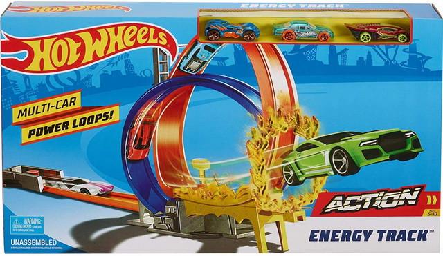 Трек Хот Вилс Взрыв энергии Hot Wheels Energy Track Action