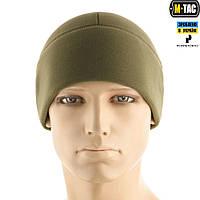 M-TAC ШАПКА WATCH CAP PREMIUM (ПЛОСКИЙ ШОВ) ФЛИС (343Г/М2) olive