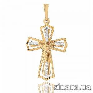 Золотой крестик 22653
